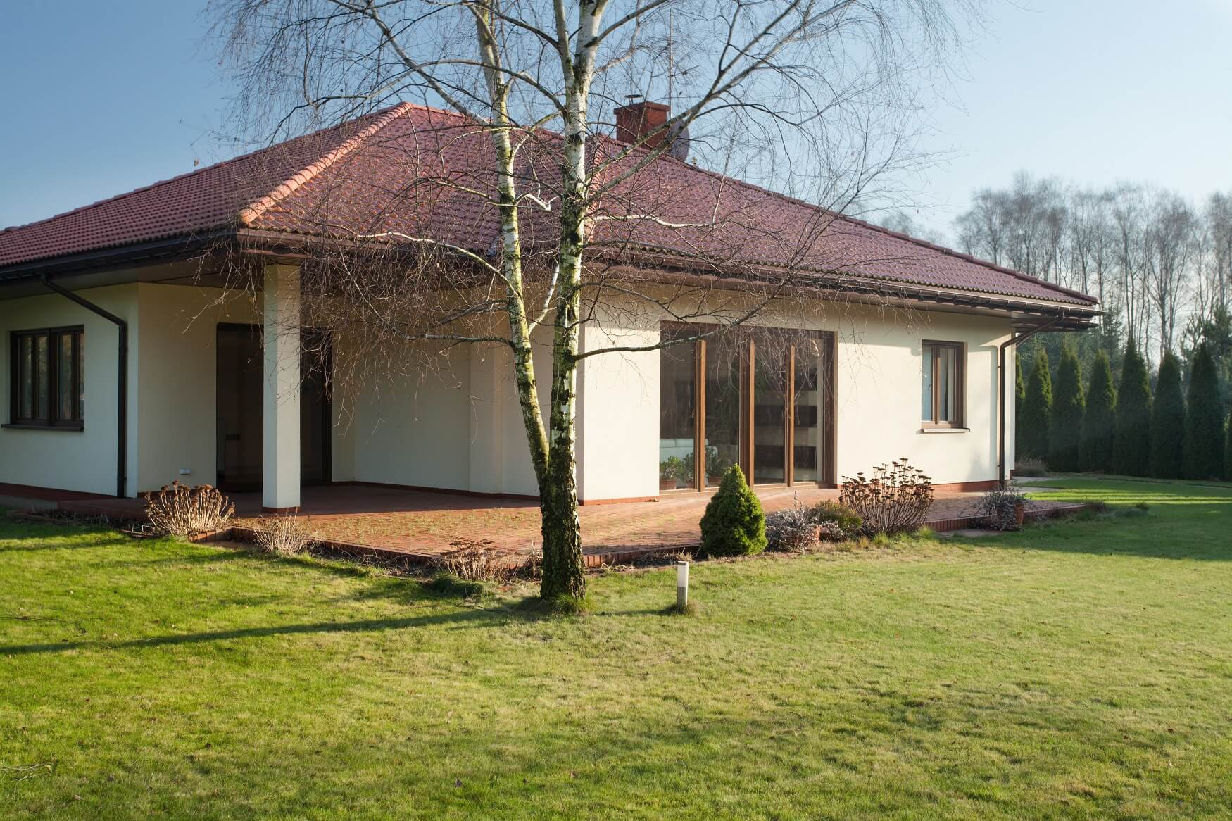 T-modern Okna opływowy kształt