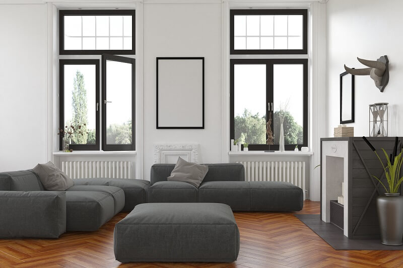 Les fenêtres avec soudures invisibles